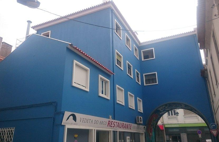 Pintura de fachada - Aveiro