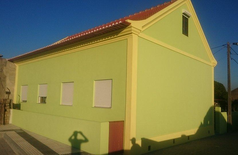 Pintura de moradia - Aveiro