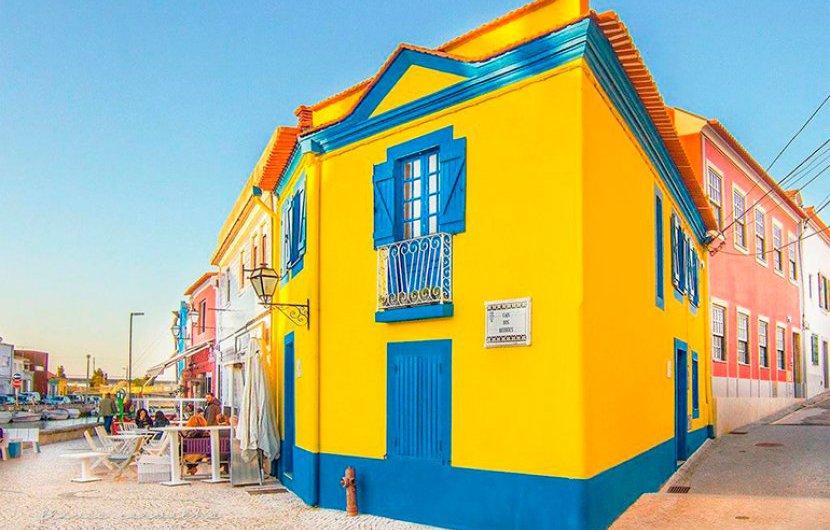 Pintura de fachada - Aveiro (Bairro da Beira-Mar)